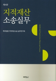지적재산소송실무 = Intellectual property law theory and practice  책표지