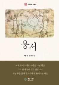용서 박도장편소설 푸른사상소설선 표지