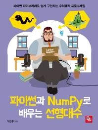 파이썬과 NumPy로 배우는 선형대수 : 파이썬 라이브러리로 쉽게 구현하는 수치해석 프로그래밍  표지