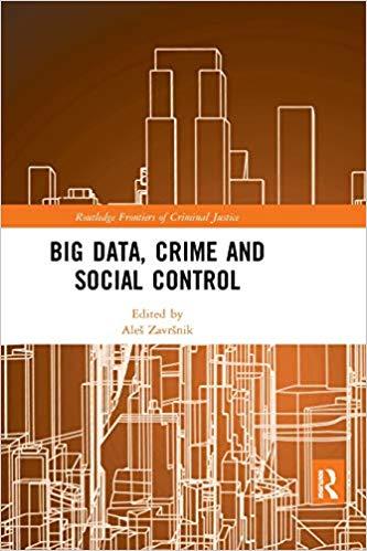Big data, crime and social control 책표지
