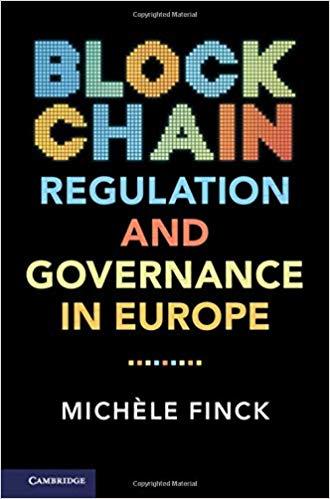 Blockchain regulation and governance in Europe 책표지