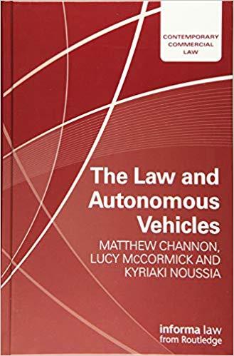 (The) law and autonomous vehicles 책표지