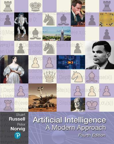 Artificial intelligence : a modern approach  책 표지