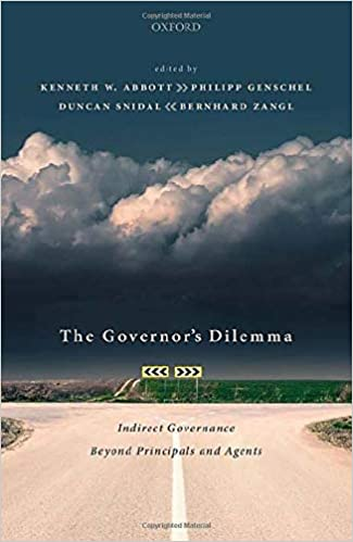 The Governor's dilemma : indirect Governance beyond principals and agents 책표지