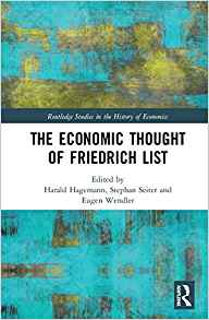 (The) economic thought of Friedrich List 책표지