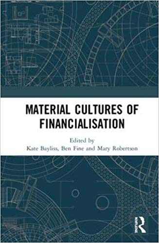 Material cultures of financialisation 책표지