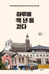 하루에 백 년을 걷다 : 근대 문화유산과 오랜 삶의 흔적을 따라가는 골목 여행  책 표지